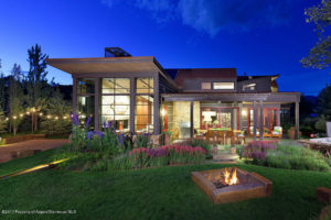 Modern home in old Snowmass